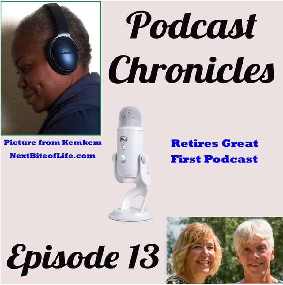 retires great first podcast, retires great's first podcast, first podcast, podcast